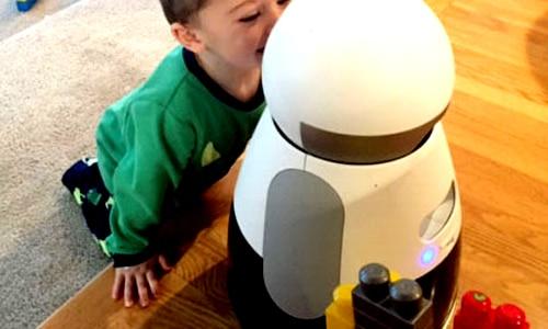 Bosch's Kuri robot