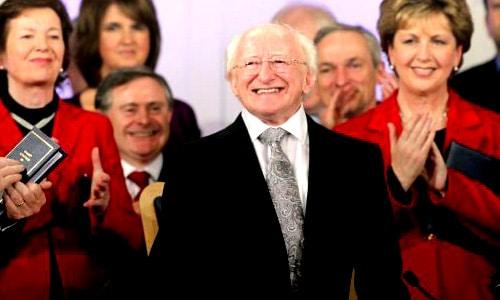 President of Ireland Oct 2011